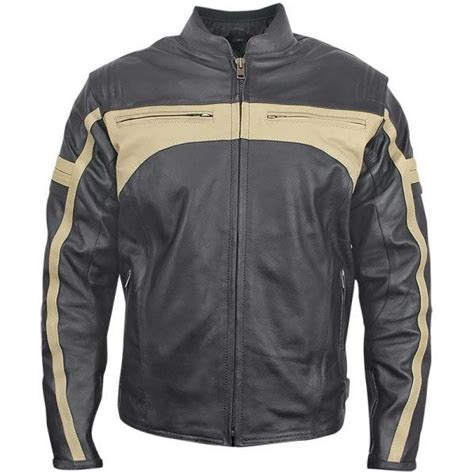 motorcycle jackets for men with armor men 39 s classic armored leather motorcycle jacket