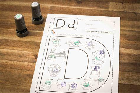 preschool letter d in my world 708 | Letter D 15
