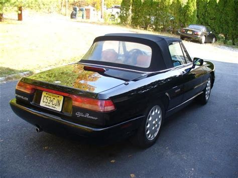 1993 Alfa Romeo Spider For Sale by 1993 Alfa Romeo Spider Veloce Convertible 2 0l Hardtop Low