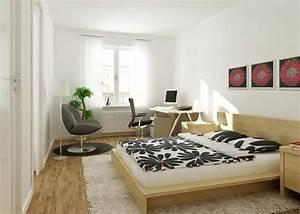 Chambre Avec Bureau : 3 bonnes raisons de mettre un tapis dans votre chambre ~ Dode.kayakingforconservation.com Idées de Décoration