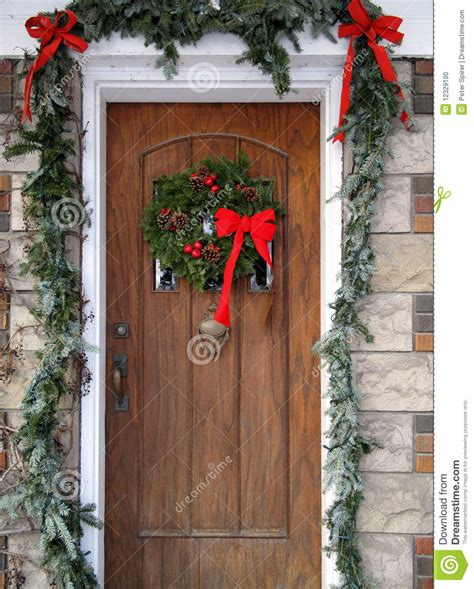 christmas decorated door door christmas decorations letter of recommendation