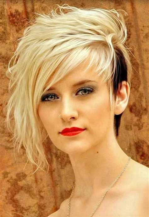 cool  edgy black blonde hairstyles pretty designs