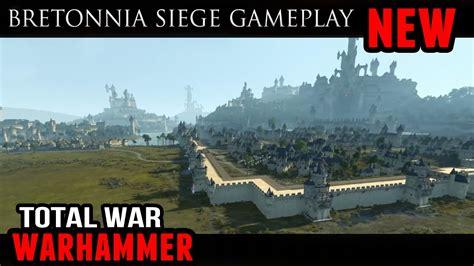 2 total war siege total war warhammer bretonnia multiplayer siege battle