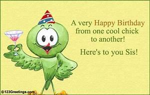 Happy Birthday Sister Graphics   Happy Birthday Sister E ...