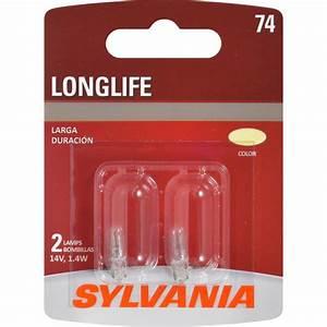 Zevo Led Light Mini Bulb Longer Lasting Oe Quality Sylvania 74 Long Life Mini