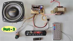 Bluetooth  Sd Card  Aux  Fm Radio Mp3 Player Module With