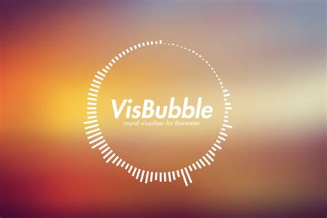VisBubble: Round Visualizer for Rainmeter by undefinist on ...