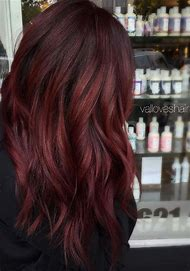 Red Auburn Hair Color Idea