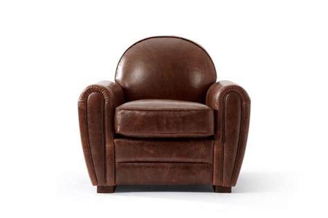 fauteuil club en cuir 1940 rose moore