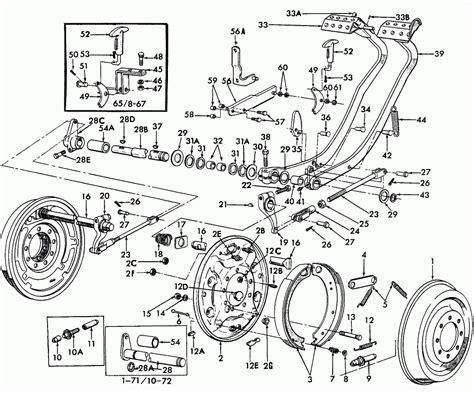 ford tractor parts diagram radio wiring diagram