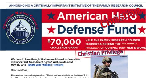 News Infidel Not Providing For Your Own Family Is Family Research Council Misrepresents Our