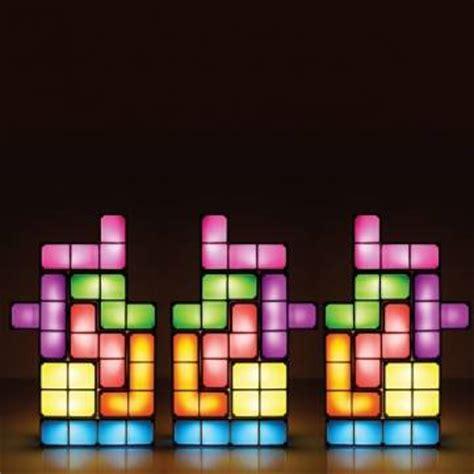 tetris diy constructible retro game style stackable led