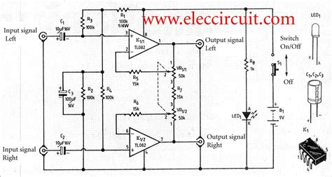 Simple House Wide Stereo System Circuit Using
