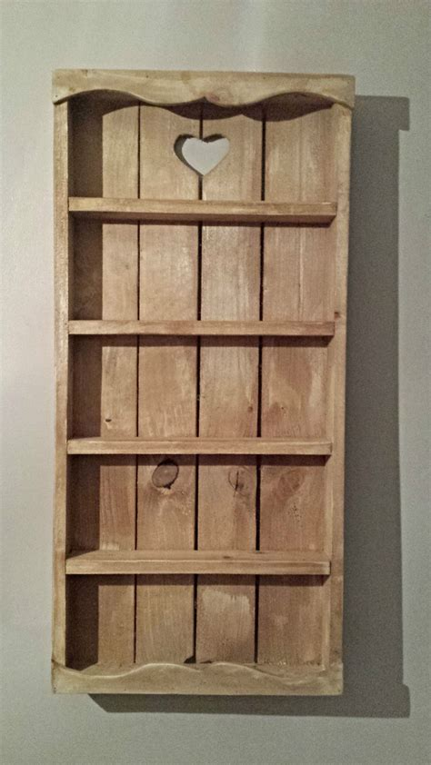 wood spice rack for wall wooden rustic cottage spice rack 5 tier storage wall