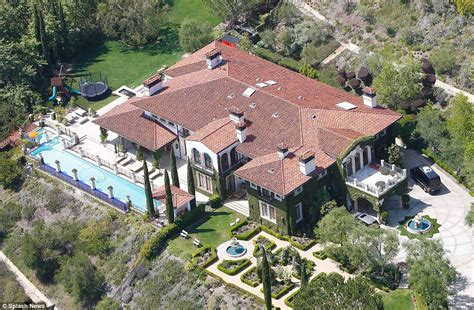 heidi klum haus see inside heidi klum s opulent 25 million mansion daily mail