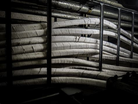 electrical cable asbestos wrap insulation multiple high