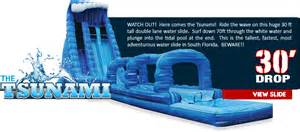 bounce house water slide and rentals boca raton