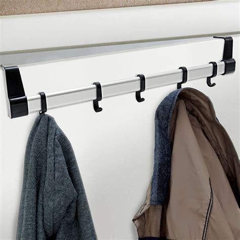 the door coat rack 5 hook door coat rack hanger clothes storage space