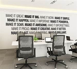 office wall art moonwallstickerscom With best brand of paint for kitchen cabinets with professional office wall art