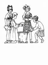 Coloring 1920s Pages Children 1920 1910 Edwardian Costume Clothes Colouring History Fashions Drawings Outfits 1915 Printable Era Getcolorings Childrens Pag sketch template