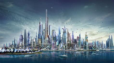 Doha futuristic city on Behance