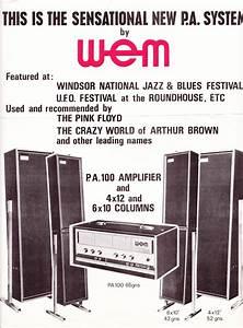 Wem Pa Leaflets  Late 1960s