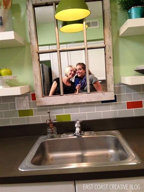 windowless kitchen sink mirror above windowless kitchen sink our home 1108