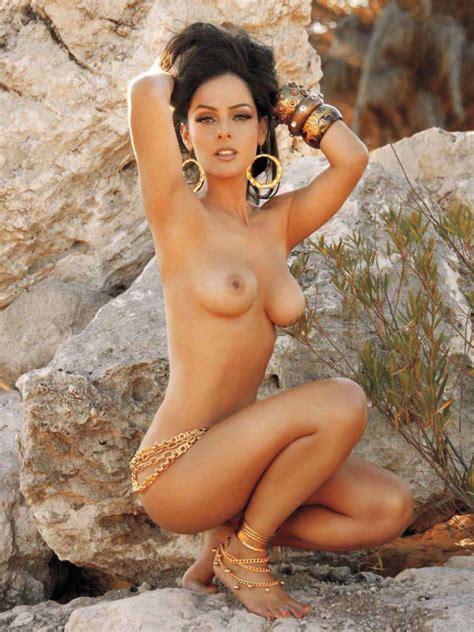 Naked Andrea García in Playboy Magazine