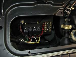 Headlight Relay Wiring On Early 911