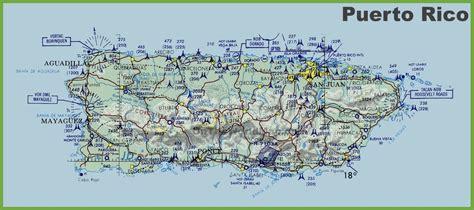 topographic map  puerto rico