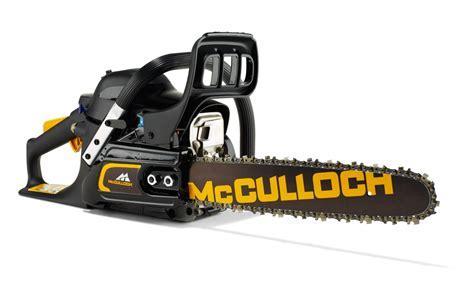 McCulloch CS35S 35cm Petrol Chainsaw   Gardenlines