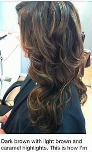 Brown hair with caramel highlights | Hair goals ...