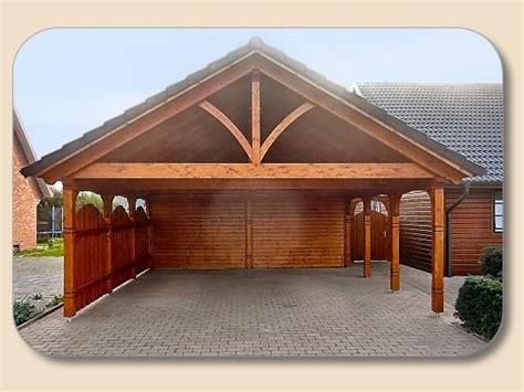 Garage Satteldach Carport Garage Aus Holz Mit Satteldach