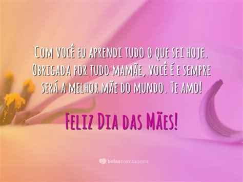 Mensagens Do Dia Das Mães-belas Mensagens