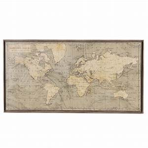 Giclée Map After Peter Barlow Quot A Chart Of Magnetic