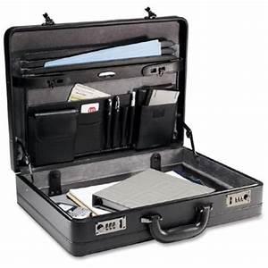 samsonite bonded leather attache briefcase laptop case bag With samsonite document bag
