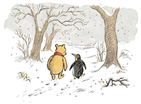 New Winnie-the-pooh Book To Introduce Penguin Character