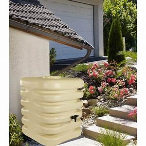 Recuperateur Eau De Pluie 1000 Litres : bellijardin collecteur d 39 eau de pluie cubique 1000 l ~ Premium-room.com Idées de Décoration