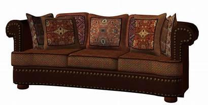 Furniture Oriental Divano Transparent Clipart Revival Gothic