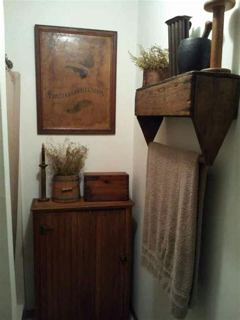 25 best primitive country bathrooms ideas on pinterest