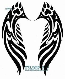 Wolf Angel wings | Winged wolves | Pinterest | Angel Wings ...