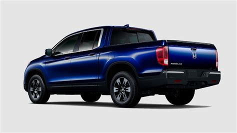 What Colors Does The 2019 Honda Ridgeline Come In?