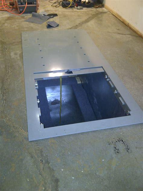 Garage Floor Storm Shelters