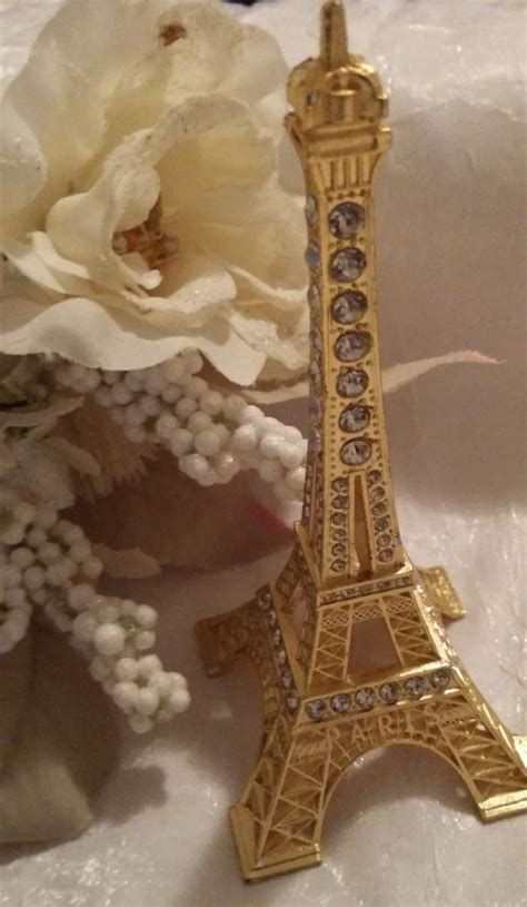 Tower Decorations by Rhinestone Eiffel Tower Eiffel Tower Rhinestone Cake