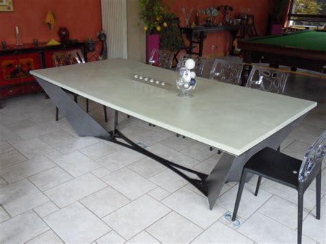 de cuisine multifonctions table beton cire com le site des tables en béton ciré