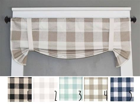 Plaid Valance Buffalo Plaid Kitchen Curtains Kitchen Brushed Nickel Shower Curtain Rod Blackout Curtains 108 Inches Discount And Blinds White Blue Trim Velvet Complete Bedding Sets With Ideas For Sliding Glass Door Walmart Sheers