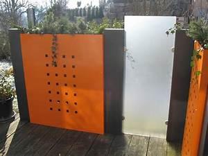Zaun Aus Glas : sichtschutz modulbau ~ Yasmunasinghe.com Haus und Dekorationen