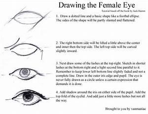How to Draw: Female Eye by vanmaniac on DeviantArt