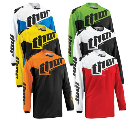 thor motocross jersey thor phase 2015 tilt motocross jersey clearance