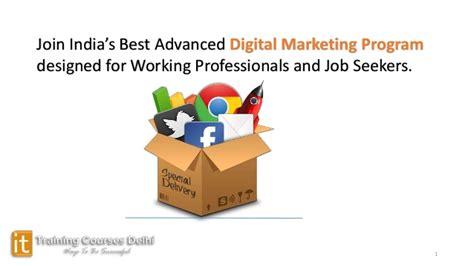 digital marketing certification india digital marketing program demo session in india
